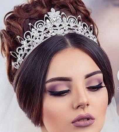 مدل تاج عروس ایرانی