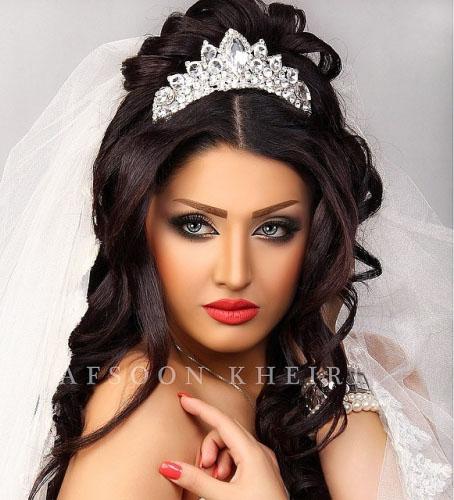 عکس تاج عروس ایرانی
