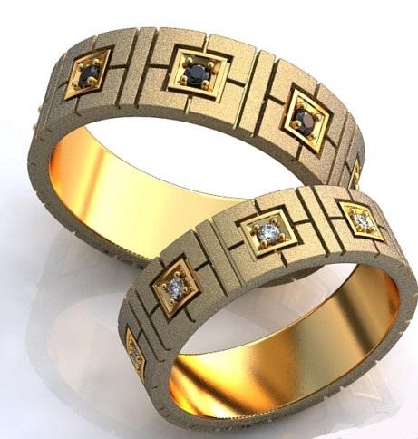 حلقه ازدواج طلا