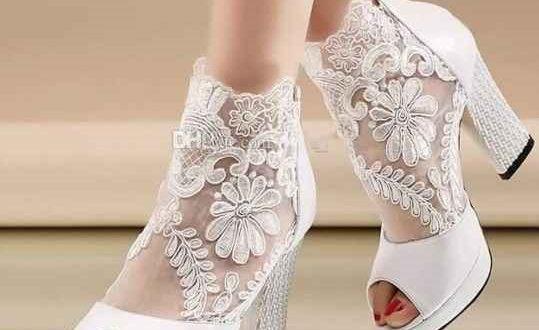 کفش عروس گیپور