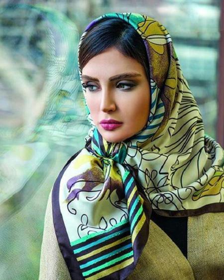 مدل روسری خاص
