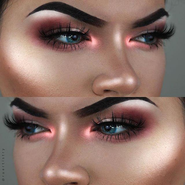 استفاده از هایلایتر در آرایش صورت