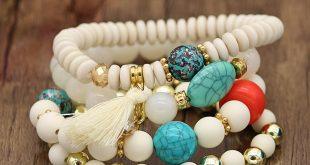 مدل های دستبند سنگ