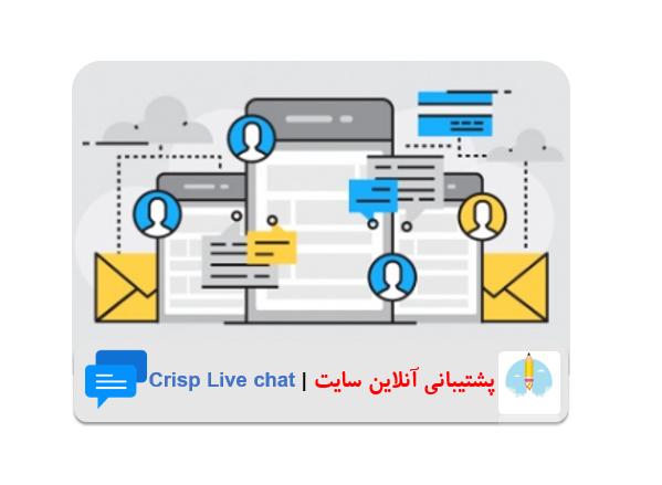 پشتیبانی آنلاین وردپرس با Crisp