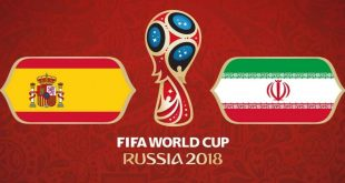 بازی ایران و اسپانیا جام جهانی