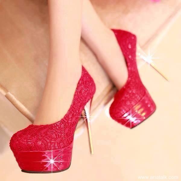 مدل کفش قرمز