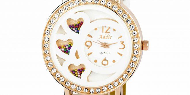 ساعت سفید دخترونه