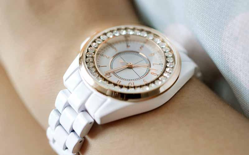 مدل ساعت سفید جدید