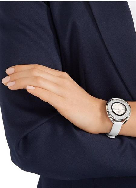 مدل ساعت سفید چرم