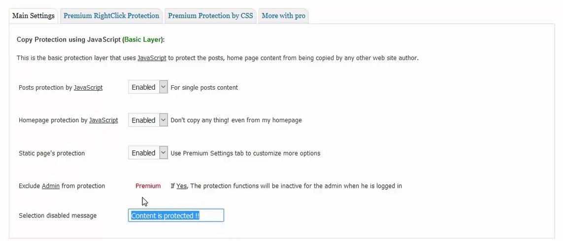 جلوگیری از کپی کردن مطالب در وردپرس