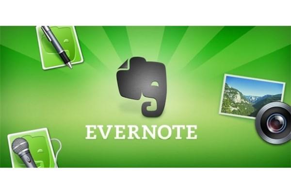 برنامه نوت برداری Evernote
