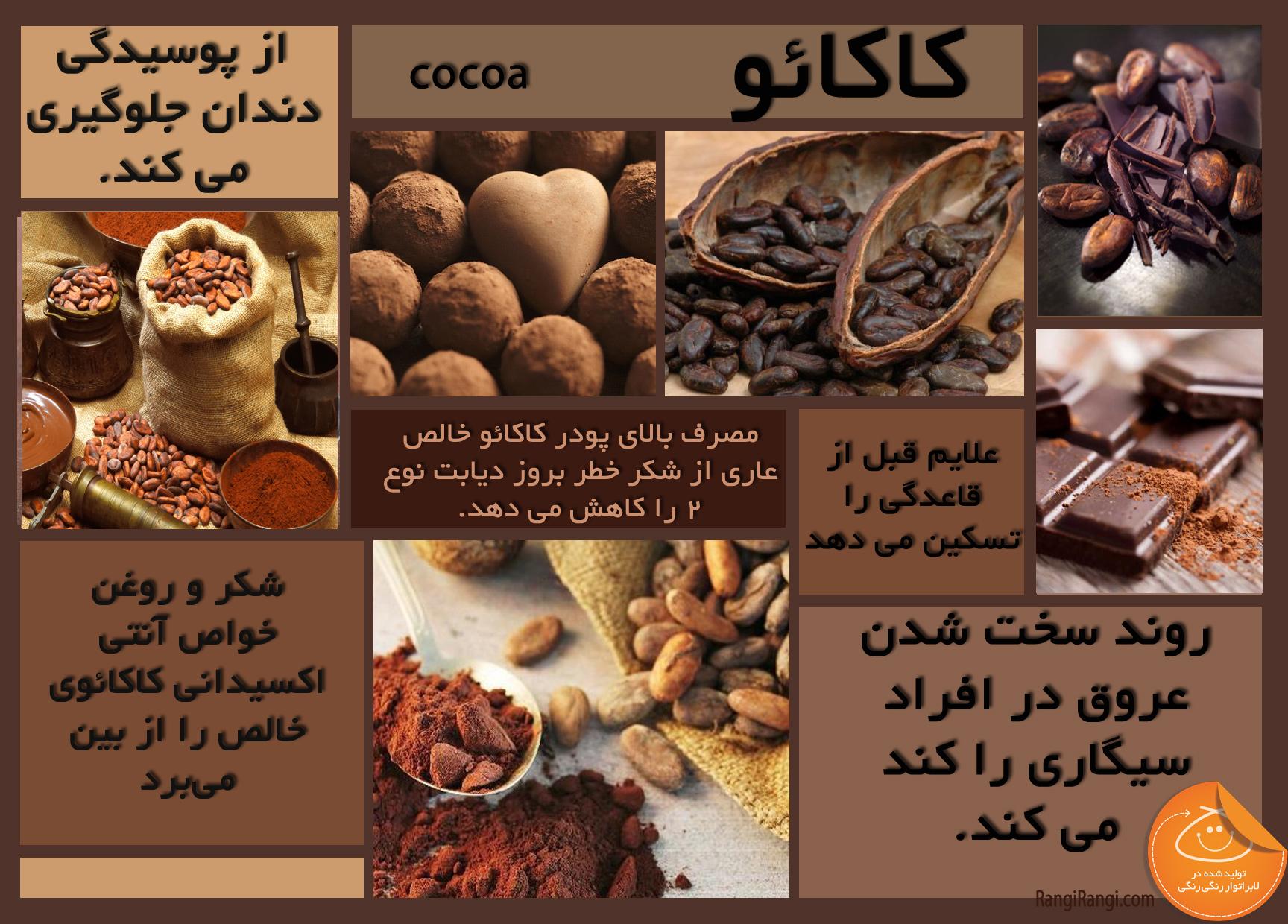خواص شیر کاکائو