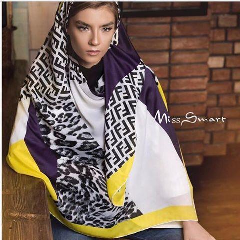 مدل روسری Fendi