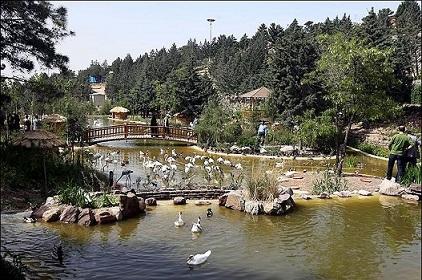 باغ پرندگان پارک شیان لویزان