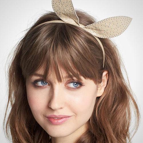 مدل تل خرگوشی دخترانه