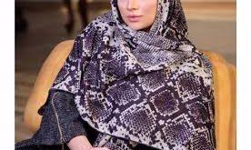 روسری پوست ماری