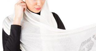 مدل شال سفید زنانه