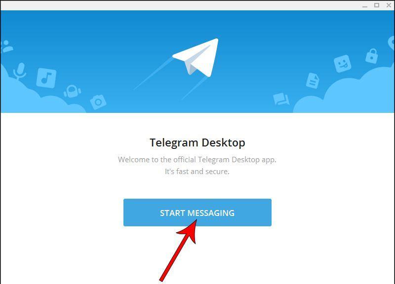 آموزش نصب تلگرام روی کامپیوتر