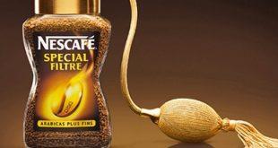 تست عطر با قهوه