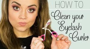 تمیز کردن فرمژه آرایش